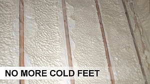 foam underfloor insulation