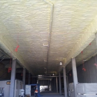 shopping centre insulation