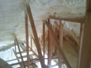 roof home foam insulation