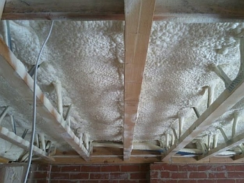 home foam underfoor insulation projects